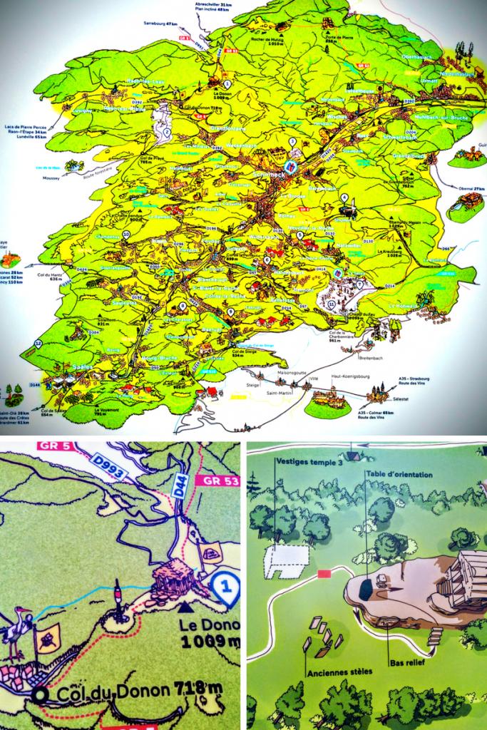 Donon, Vallée de la Bruche, Vosges du Nord, Vogesen