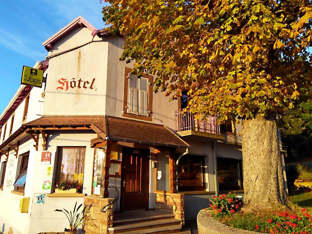 Hotel Restaurant des Vosges à La Hoube