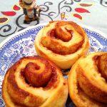 Kanelbullar Zimtschnecken echt schwedisch Rezept, Zimtweck bakelse recept