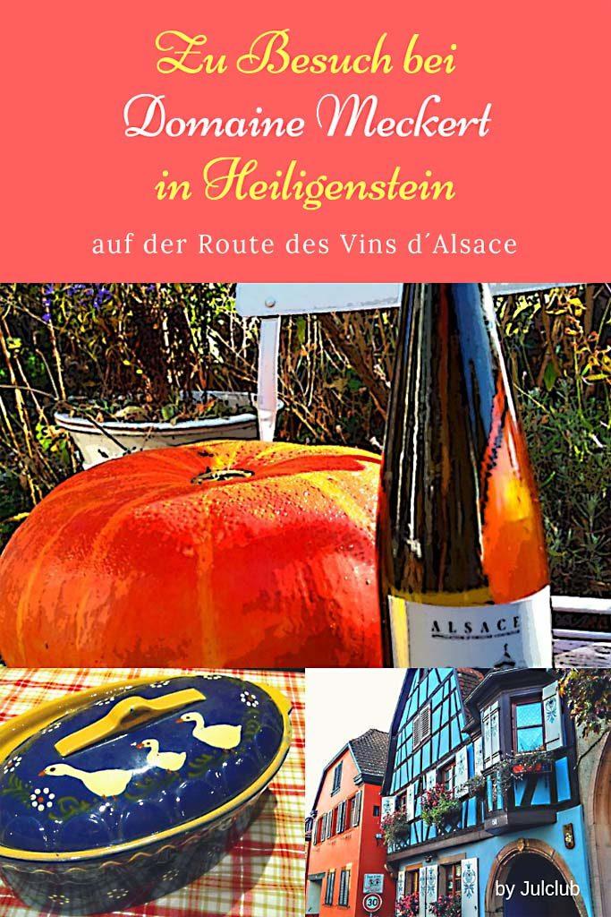 Domaine Meckert, Heiligenstein, Route des Vins d´Alsace