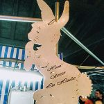 Der Hase - Maskottchens des Hasevereins - Organisator des fête d´été