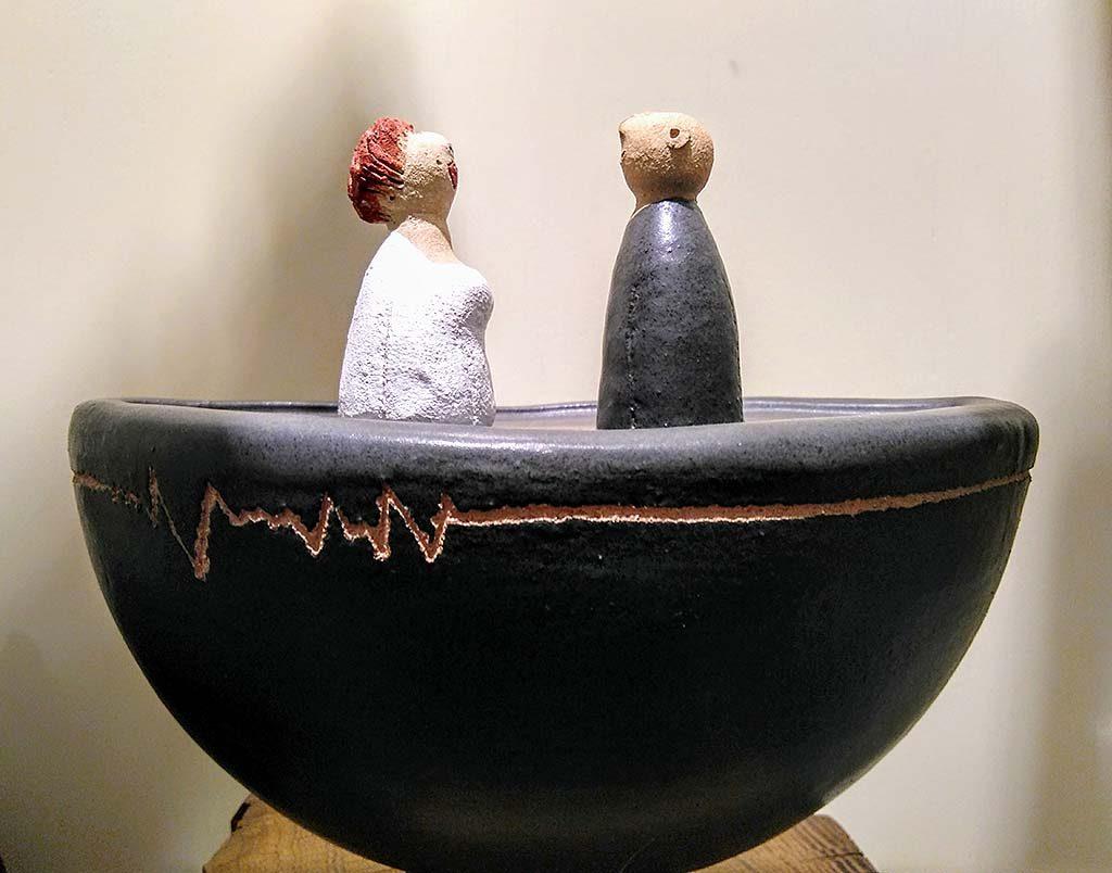 Keramik Skulptur Susanne Boerner