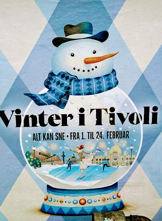 Tivoli Kopenhagen Winter