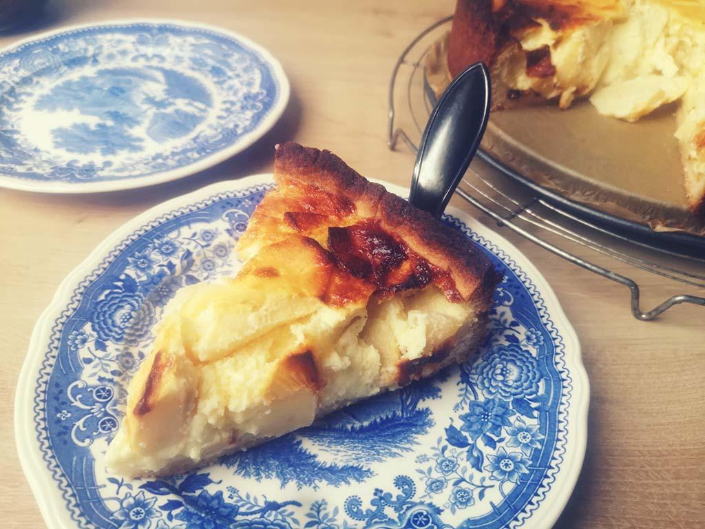 Schwedischer Apfel-Rahm-Kuchen