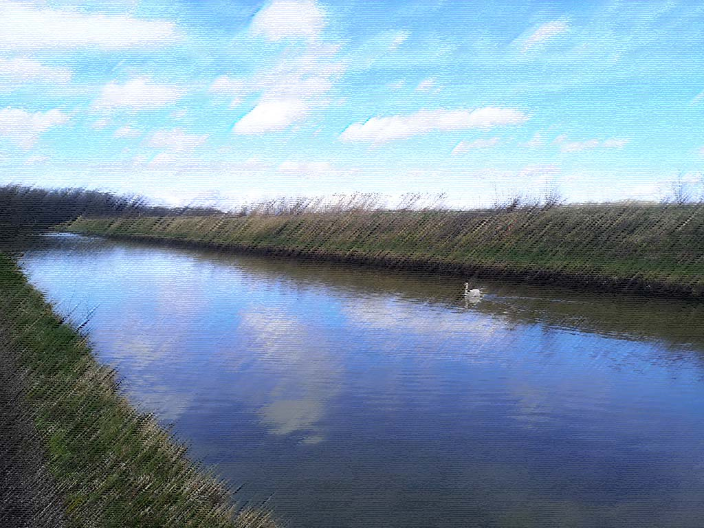 Gondrexange canal kanal