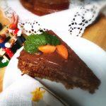Möhrenkuchen mit Schokocreme