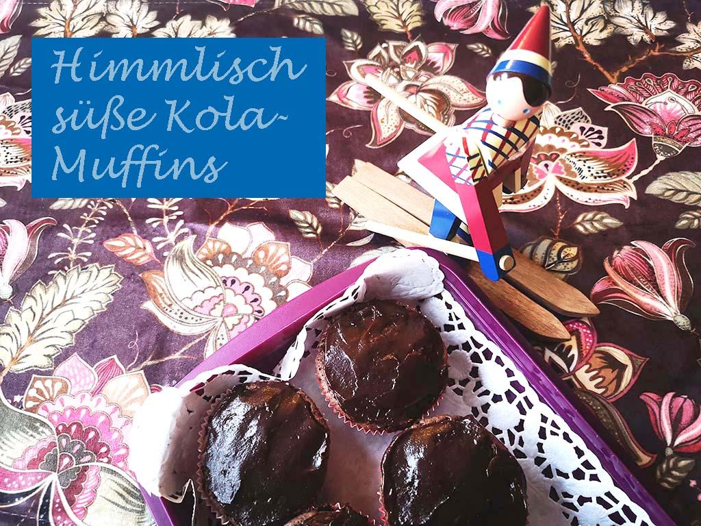 Backen Kola Muffins Rezept schwedisch