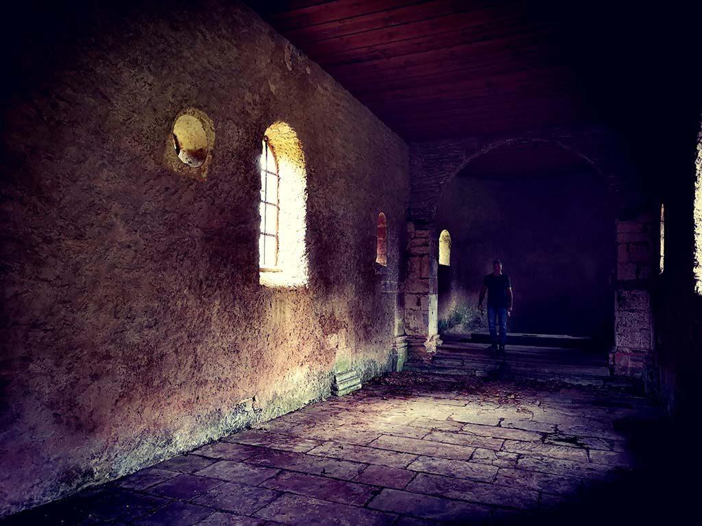 Chateau Guirbaden Grendelbruch Vallee de la Bruche Vosges Vogesen Wander